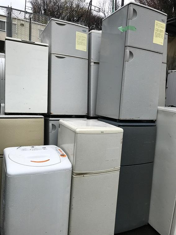 多数冷蔵庫洗濯機